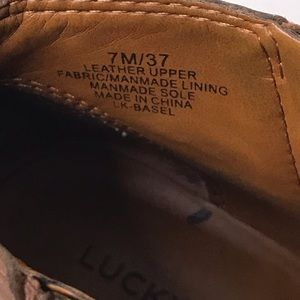 Lucky Brand Shoes - Lucky Brand Basal Flat Booties, 7M